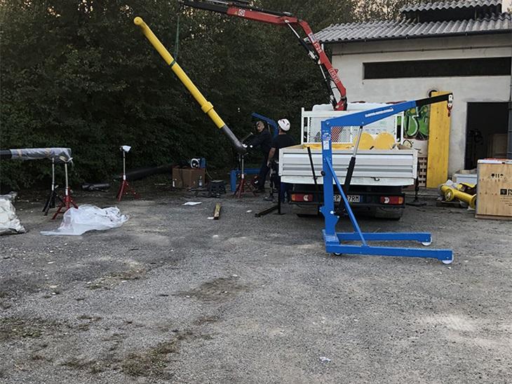 Nuova cabina RE.MI. prima presa di Treviso