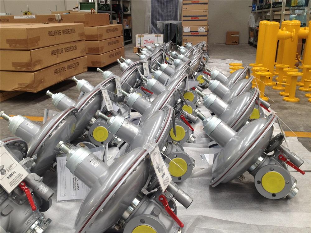Energy Lab | Fornitura riduttori di pressione, stabilizzatori